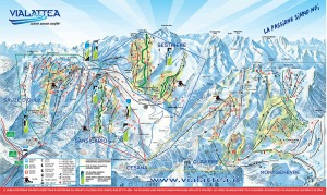 sestriere ski map